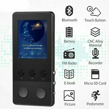 8GB Bluetooth MP4 MP3 Players Music Media Clip Player USB Handheld Mini SD Gifts