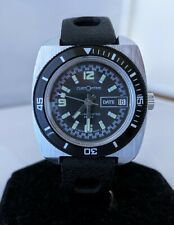 Customtime Swiss Made Vintage Skin Diver Watch