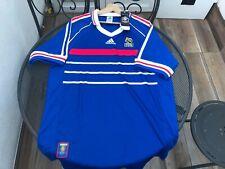 Maglia Calcio Originale Francia Campione del Mondo 1998 Replica Francia-Brasile