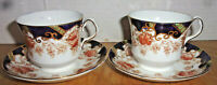 2 Collingswood Bone China Cup & Saucer Sets