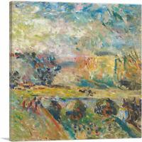 ARTCANVAS Le Pont 1901 Canvas Art Print by Henri Matisse