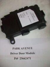 97 98 99 00 Park Avenue BONNEVILLE Aurora DRIVER FRONT DOOR MODULE 25662471