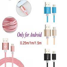 1/1.5m Métal tressé câble de données USB SYNC Chargeur Pour TéléPhone Cellulaire