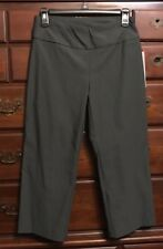 Tribal Stretch Carbon Flatten It Cropped Dressy Pants Size 4 NWT