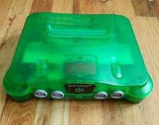 Nintendo 64 Jungle Green Console - Console Only