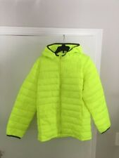 Gap Kids Girls Puffy Winter Coat Jacket XL Regular Primaloft Bright Yellow