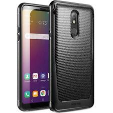 "LG Stylo 5 (2019 Release) ,Poetic ""Slim Shockproof"" Black TPU Bumper Cover Case"