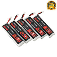 5Pcs URUAV 3.8V 550mAh 50/100C 1S HV 4.35V PH2.0 Lipo Battery for Emax Tinyhawk