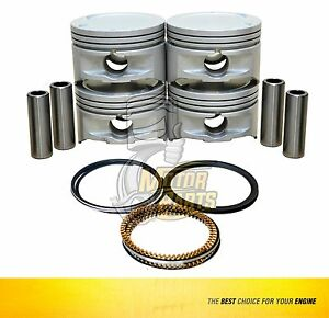 Piston & Ring Set Fits Chevrolet Astra 1.8 L X18XE1 DOHC - SIZE 030