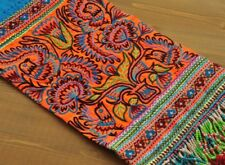 Lovely antique miao hmong tribal hand embroidery Hanging Orange Woods
