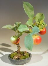 Artificial Apple Bonsai Tree