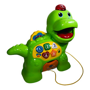 VTech Chomp and Count Dino Talking Green Dinosaur Educational Learning Toy