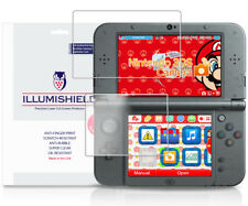 iLLumiShield Screen Protector w Anti-Bubble/Print 3x for Nintendo 3DS XL 2015