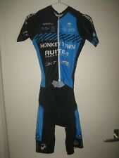 Monkey town WORN by RIDER jersey 2018 shirt cycling maillot suit skinsuit size S