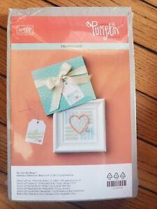 Stampin Up Paper Pumpkin Kit Framed Love Refill SET NEW 2014