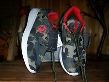 BABYPHAT WOMENS CAMOUFLAGE ATHLETIC SHOES 9M LADIES CASUAL SNEAKERS RED LINING