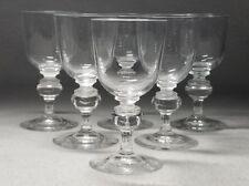 3bd7ea84b52 Set of 6 Signed Steuben Crystal Sherry Wine Glasses Shape  7925 4 1 2