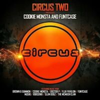 COOKIE MONSTA & FUNTCASE - CIRCUS TWO 3 CD NEW!