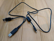 3ft 1m Dual USB A to Micro-B Y Power Booster Cable for External Hard Drive