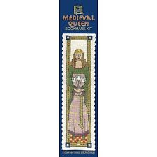 Medieval Queen Counted Cross Stitch Bookmark Kit by Textile Heritage
