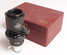 Leica/Leitz MIKAS Micro-Ibsor Microscope Attachment w/Shutter - Nice