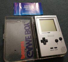 Nintendo Game Boy Pocket Spielkonsole - Silber mit OVP, retro gameboy, Top!