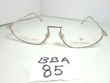 New LISE WATIER Lunettes Eyeglass Frame Nicolet LW019 667 Half Rim (BBA-85)
