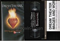 DREAM THEATER Images&Words-Live In Tokyo JAPAN VHS AMVY-8073 w/INSERT