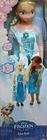 "Disney Frozen MY SIZE ELSA BARBIE DOLL 38""  OVER 3 FT TALL BDAY GLOBAL EXPEDITED"