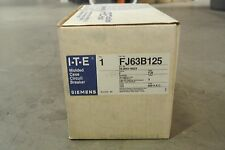 ITE SIEMENS FJ63B125 FJ 3P 600V 125A Circuit Breaker - NEW IN BOX