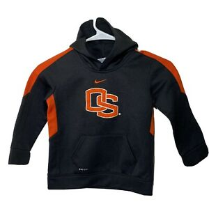 Nike 4T Oregon State Beavers Black Sweater With Hoodie Nike Dry-Fit