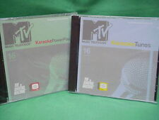 Pop Tunes  MTV/Singing Machine Karaoke 8603 & 8604  Rock Show  CD+G  2 NEW Discs