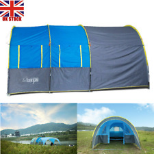 5 6 8 10 Person Outdoor Tunnel Tent Camping Hiking Travel Party Christmas Family