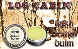 Irish beard balm Log Cabin 100% all natural leave in beard conditioner.