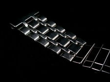 Vintage Center Scissor Expansion Stainless Steel Watch Band 3/4 in 19mm Bracelet