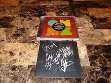 Minus The Bear Rare Band Signed CD Omni Mexican Import Promo w/ Bonus Track COA