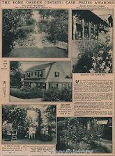 Home Garden Photographic Contest 1928