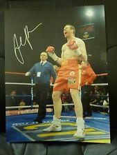 David Price Signed Large Boxing Photograph 2