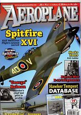 Aeroplane Monthly Magazine 2013 March BBMF Spitfire,Hawker Tempest,Avenger