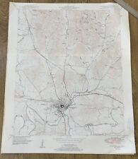 Vintage 1951 Tennessee Map~Fayetteville~Tn Usgs Topo Map