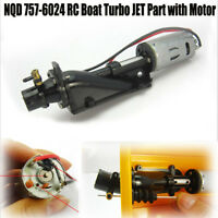 Hot Sale Electric NQD 757-6024 RC Boat Turbo JET Replacement Part w/ 390 Motor H