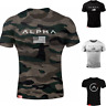 Alpha Men's Gym T-Shirt Alphalete Fitness Bodybuilding Training Workout Top Wear