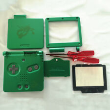 GBA SP Gameboy Advance SP Housing Shell w/Tools & Lens Kyogre/Groudon/Emerald