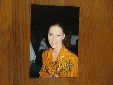 MARIETTE  HARTLEY(Law & Order:Special Victims Unit)Signed 4X6 Glossy Color Photo