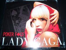 Lady Gaga Poker Face / Just Dance Ultra Rare Australian CD Single