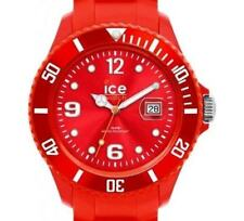 PRE-OWNED $130 Mens Ice-Watch Sili Collection Silicone SI.RD.U.S.09 WITH DEFECT