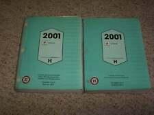 2001 Buick LeSabre Factory OEM Shop Service Repair Manual Custom Limited 3.8L V6