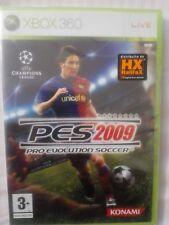 Pro Evolution Soccer 2009  PES  XBOX 360 SIGILLATO EDIZIONE ITALIANA