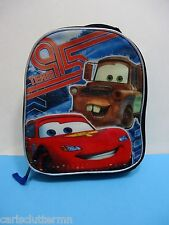 Disney Pixar Cars Lunch Bag Team 95 Lightning McQueen Tow Mater 2014 Expandable
