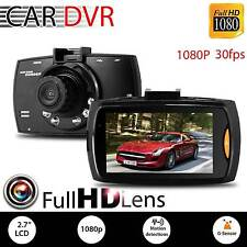 "2X1080P 2.7"" HD Car DVR Vehicle Dash Camera Crash Cam G-sensor Night Vision SE"
